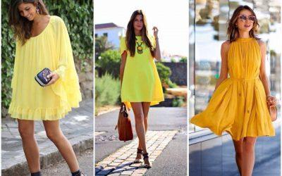 Sonhar com vestido amarelo